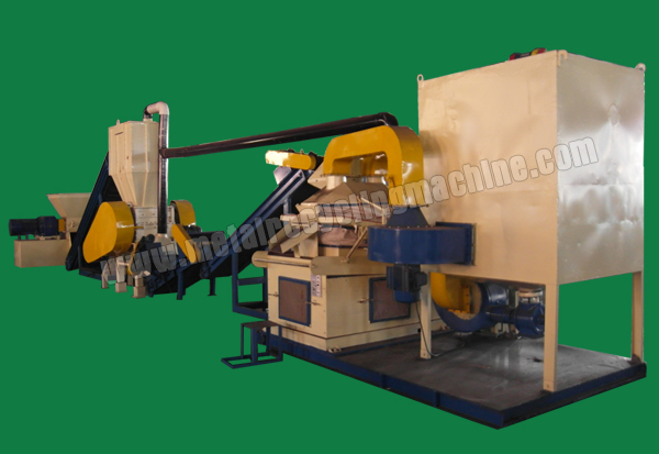 radiator_fin_crushing_and_separating_machine