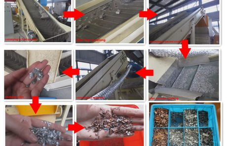 cable wire recycling process