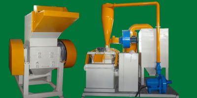 AMS 600 Type Copper Aluminum Granulator