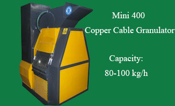 Mini 400 Copper Cable Granulator