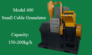 Model 400 Small Cable Granulator